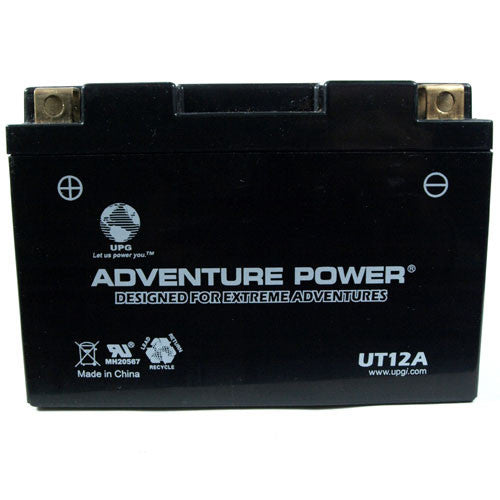 Kinetic - YT12A-BS PowerSports Battery (Sealed AGM)