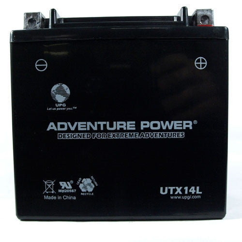 Kinetic - YTX14L-BS PowerSports Battery (Sealed AGM)