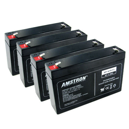 Amstron AP-670F1 Batteries (4 Pk)