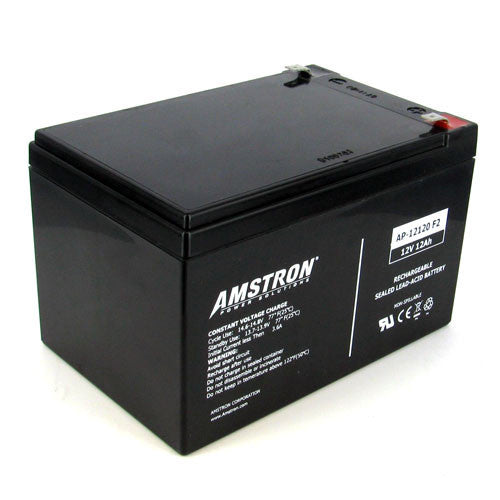 30 Batteries of Amstron 12V 12Ah Sealed Lead Acid Battery (F2 Terminal)