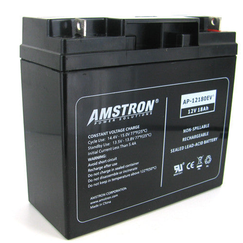 Amstron 12V 18Ah Sealed Lead Acid Battery