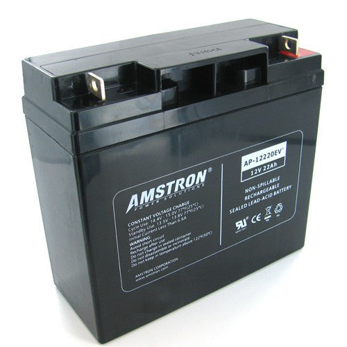 Amstron AP-12220EV 12V 22Ah Deep Cycle AGM Battery (NB Terminal)