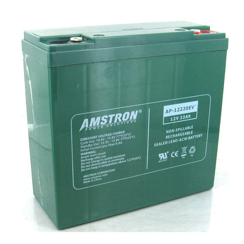 Amstron 12V 22Ah Sealed Lead Acid Battery (R Terminal)