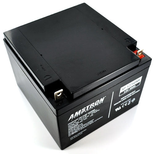 Amstron 12V 26Ah Sealed Lead Acid Battery (NB Terminal)