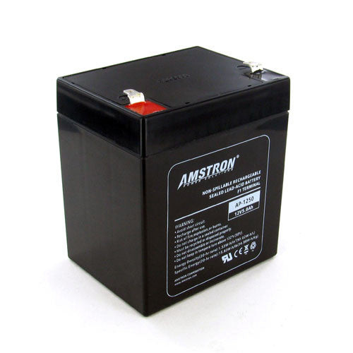 12V 5Ah Home Alarm Battery by Amstron