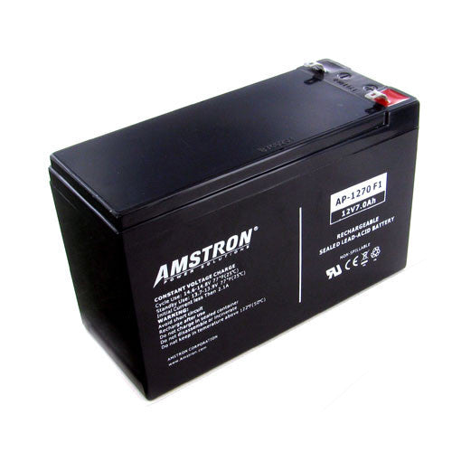 Amstron 12V 7Ah Sealed Lead Acid Battery (F1 Terminal)