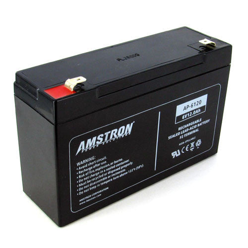 6V 12Ah Home Alarm Battery by Amstron