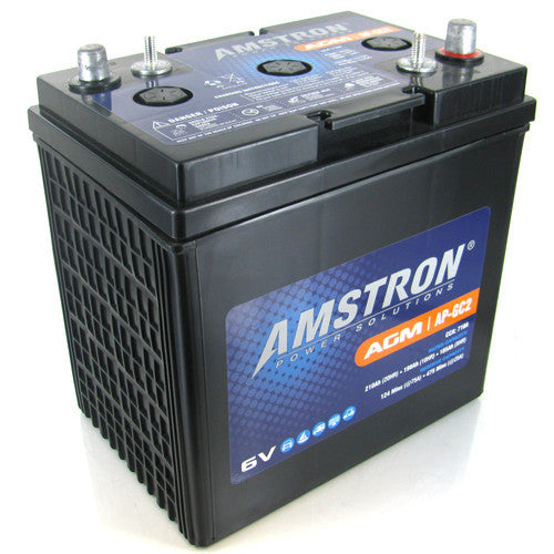 Amstron GC2 6V AGM Deep Cycle Battery