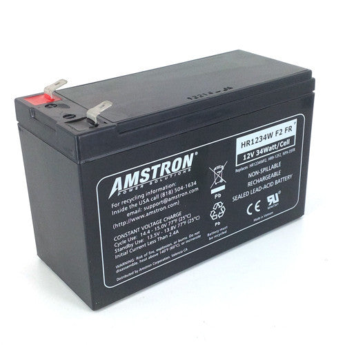 12V 9Ah AGM Battery with F2 Terminal