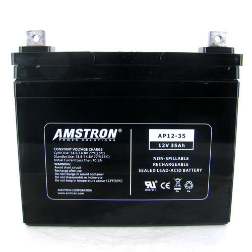 12V 35Ah Home Alarm Battery by Amstron