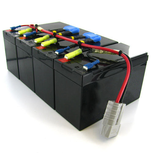 APC RBC25 Replacement High Capacity Battery by Amstron (2 Year Warranty)