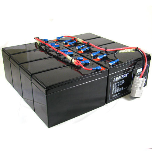APC RBC12 Replacement Battery by Amstron (2 Year Warranty)
