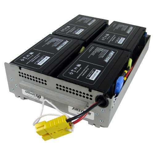 APC RBC24 Replacement Battery by Amstron (2 Year Warranty)