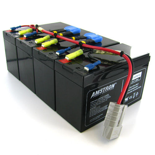 APC RBC25 Replacement Battery by Amstron (2 Year Warranty)