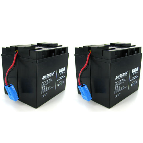 APC RBC55 Replacement Battery by Amstron (2 Year Warranty)