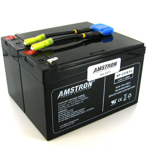 APC RBC9 Replacement Battery by Amstron (2 Year Warranty)
