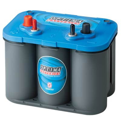 Optima 34M Bluetop 12V Marine Starting AGM Battery