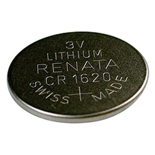 Renata CR1620 3V Lithium Coin Cell Battery
