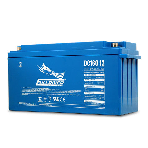 Fullriver DC160-12 Deep Cycle AGM Battery