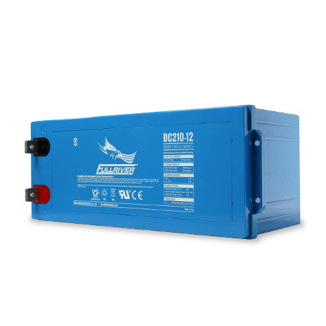 Fullriver DC210-12 Deep Cycle AGM Battery (Size 4D)