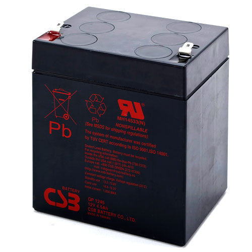 CSB GP-1245F2 12V 4.5Ah Sealed Lead Acid Battery