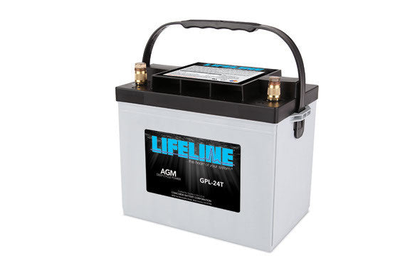Lifeline AGM  GPL-24T 12V Battery