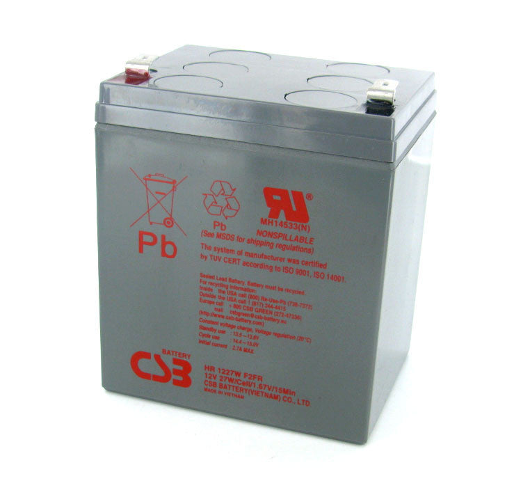 CSB HR1227W FR 12V 27W High Rate AGM Battery