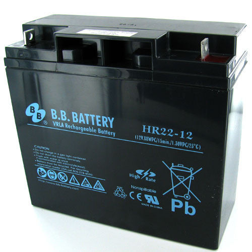 BB Battery HR22-12 SLA Battery