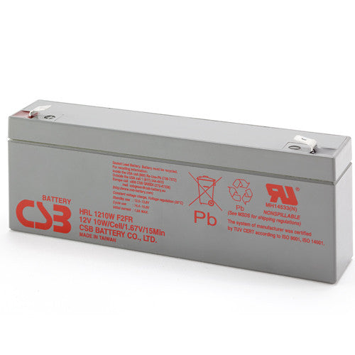 CSB HRL1210WF2FR 12V 10W High Rate Long Life Battery