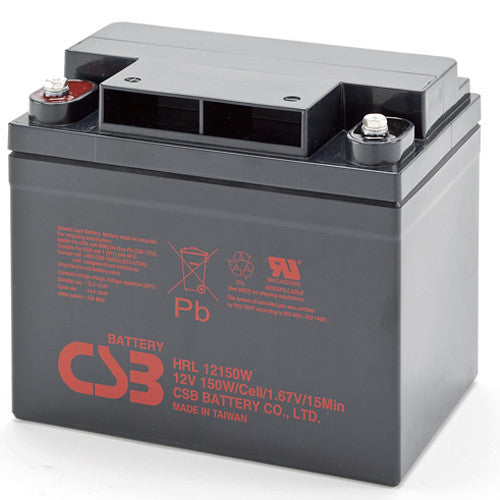 CSB HRL12150WFR 12V 150W High Rate Long Life Battery