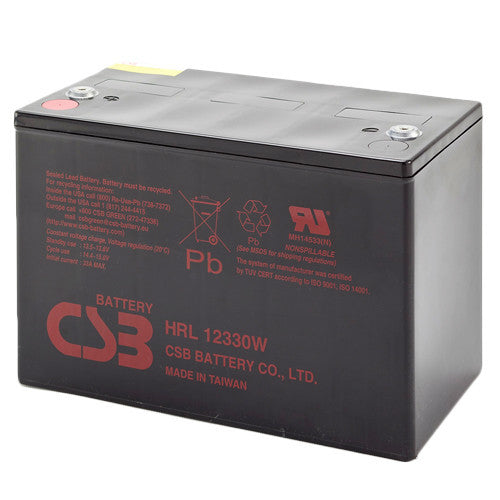 CSB HRL12330W 12V 330W High Rate Long Life Battery