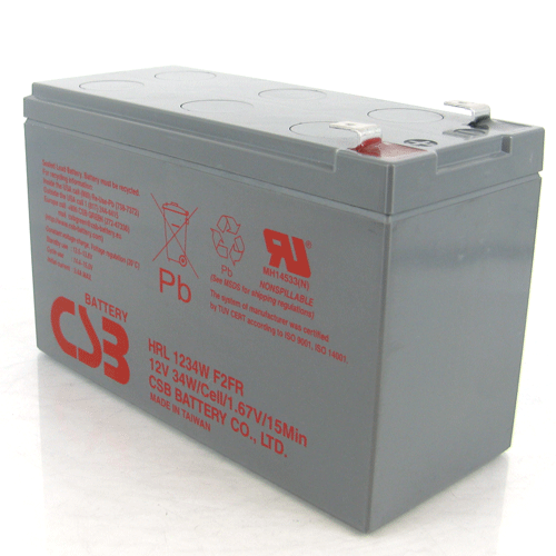 Powerware PWHR1234W2FR Replacement UPS Battery (HRL1234WF2FR)