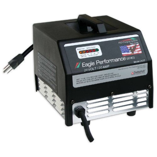 Eagle Dual Pro i2420 Performance Series 24V 20A Charger