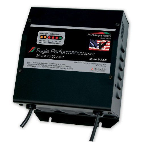 Eagle Dual Pro i2420OB Performance Series 24V 20A On Board Charger