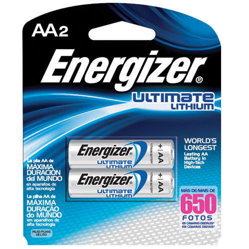 Energizer AA High-Energy Lithium Batteries - 2 Pack