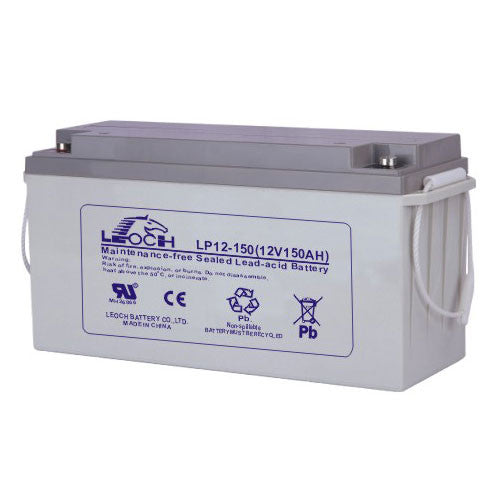 Leoch LP12-150 VRLA Battery - R Terminal