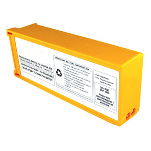 Physio-Control LifePak 500 AED Replacement Battery Pack (Class 9 Battery)