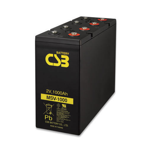 CSB MSV1000 2V 1000Ah MSV Battery