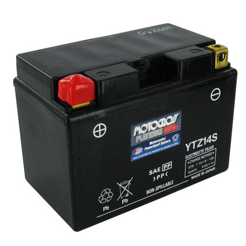 Motocross YTZ14S 11.2Ah 230 CCA Maintenance-Free PowerSports Battery