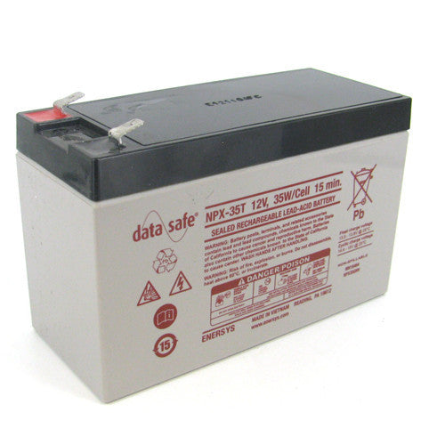 Data Safe NPX-35 F2 Battery Replacement for NP8.5-12