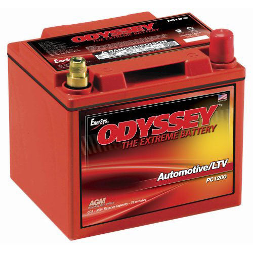 Odyssey PC1200MJT Dry Cell AGM Battery Battery