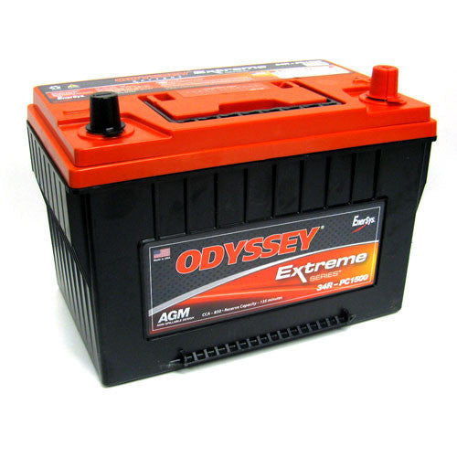 Odyssey PC1500T-34R 12V AGM Deep Cycle Battery