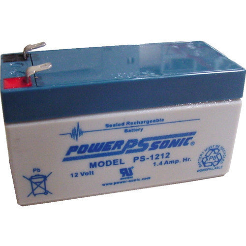 Power-Sonic PS-1212, 12V 1.4Ah Sealed Lead Acid Battery