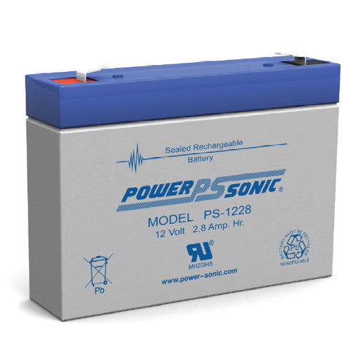 Power-Sonic PS-1228-F1 Medical Battery