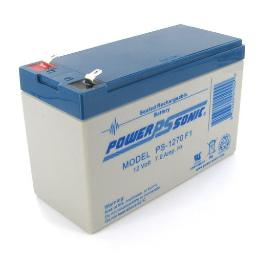 12V 7Ah Home Alarm Battery by Power-Sonic