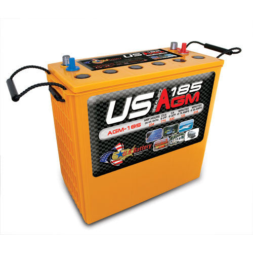 US Battery USAGM185 12 Volt 234Ah Maintenance Free Sealed AGM Battery