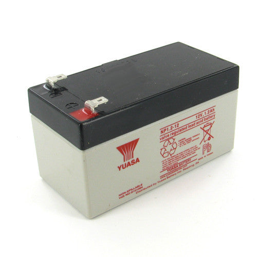 Yuasa NP1.2-12 12V 1.2Ah Sealed Lead Acid Battery