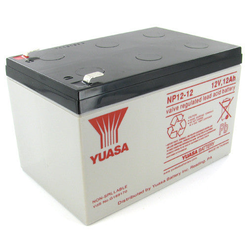 Yuasa NP12-12 12V 12Ah Sealed Lead Acid Battery