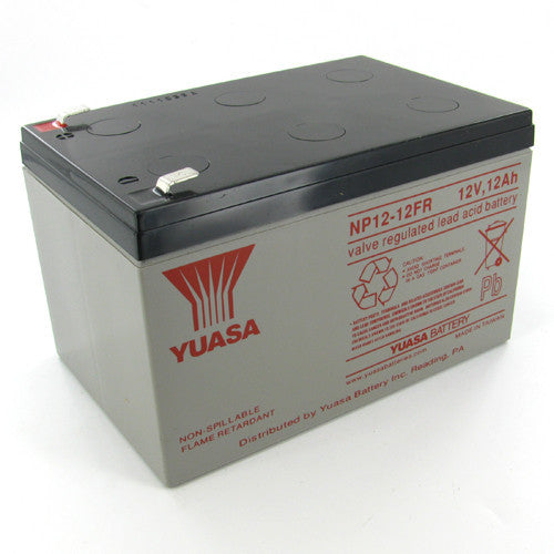 Yuasa NP12-12FR 12V 12Ah Sealed Lead Acid Battery (Flame Retardant)