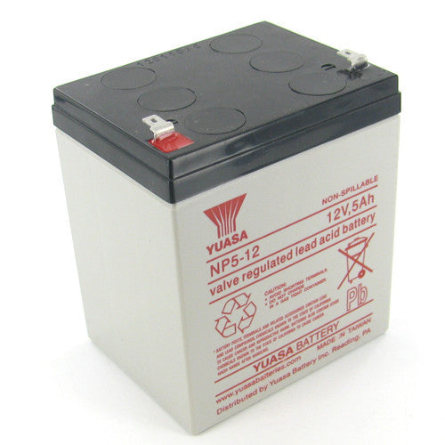 Yuasa NP5-12 12V 5Ah Sealed Lead Acid Battery